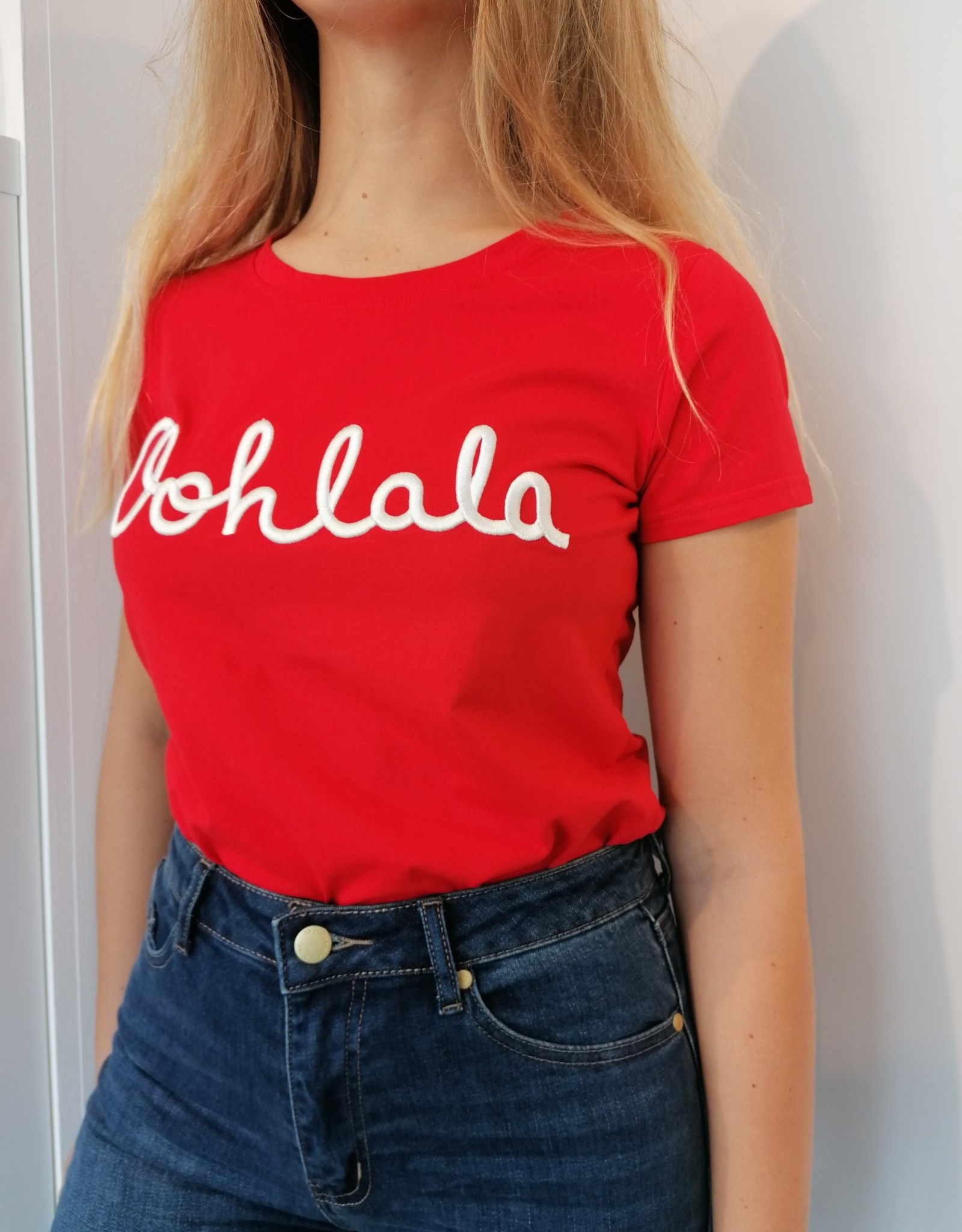 T-shirt Carrie - Rouge