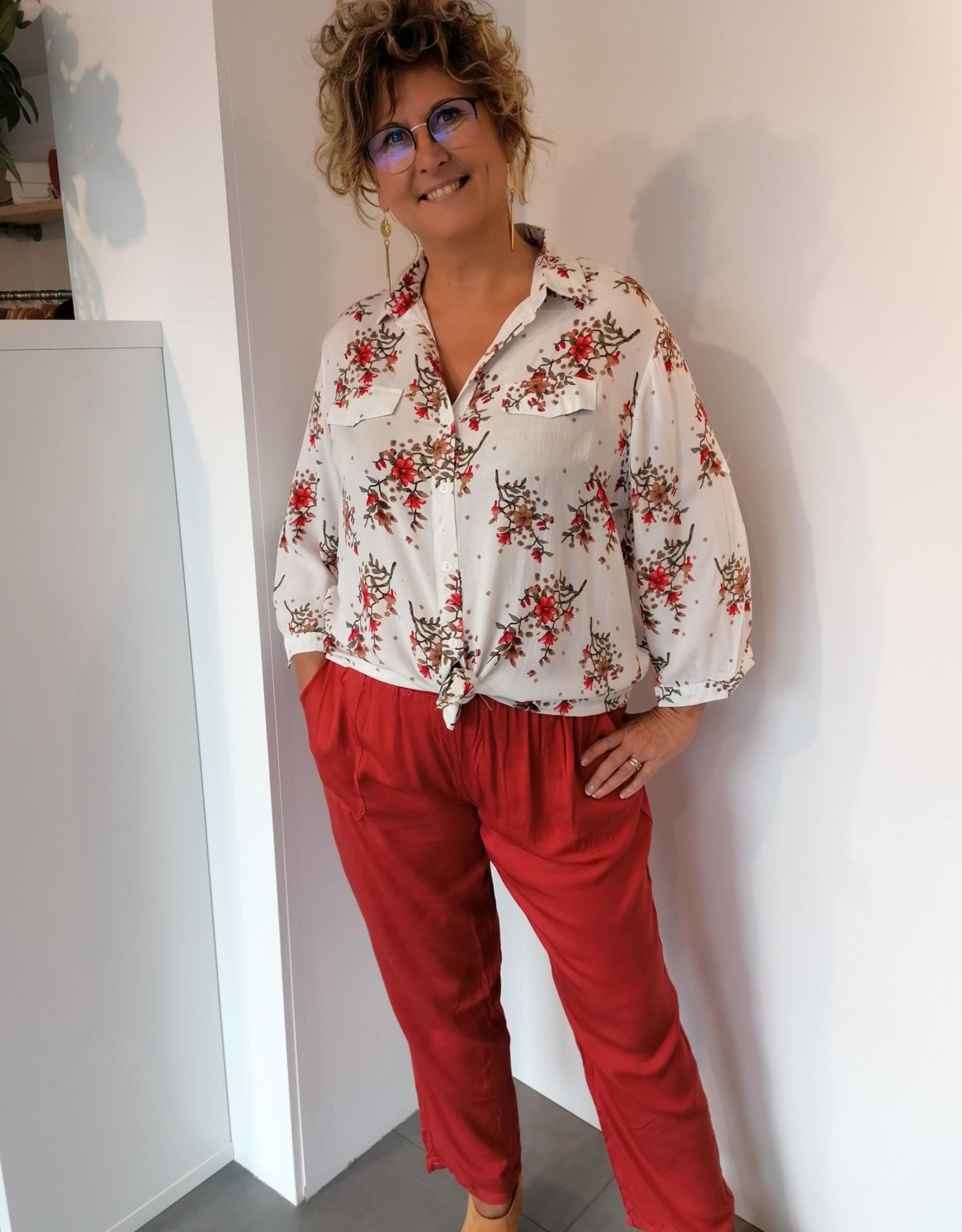 Pantalon Mayline - Brique