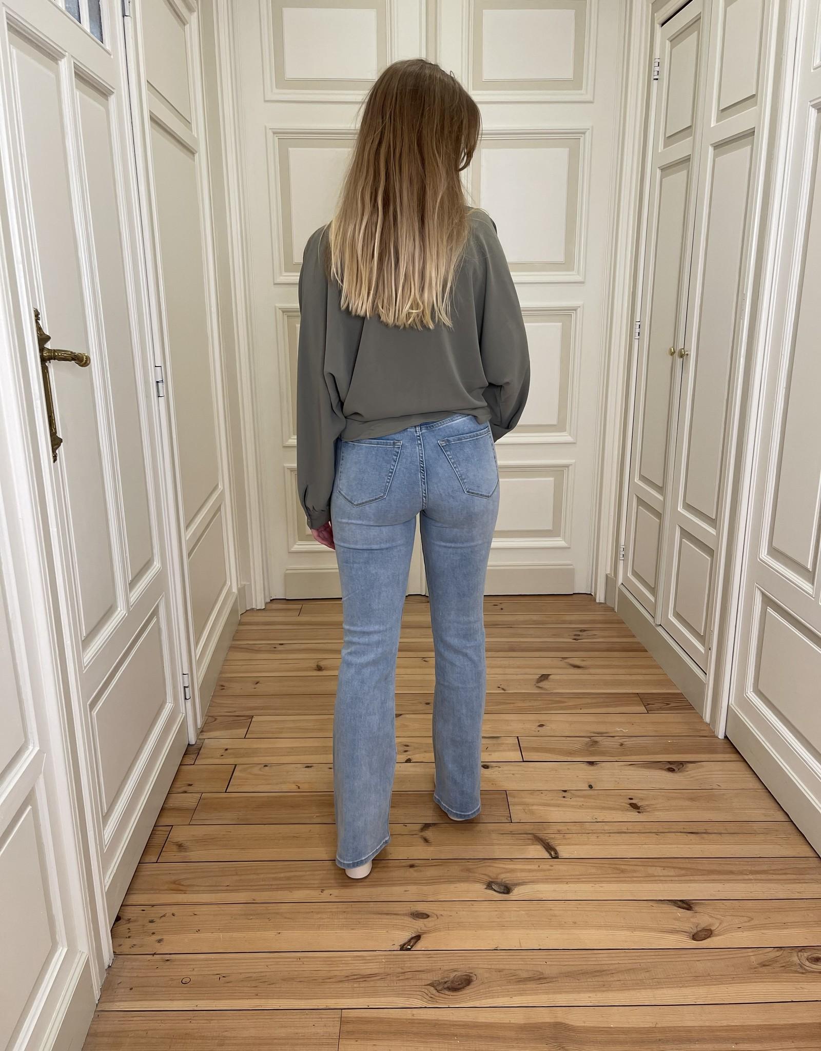Jeans Amelya - Bleu vintage