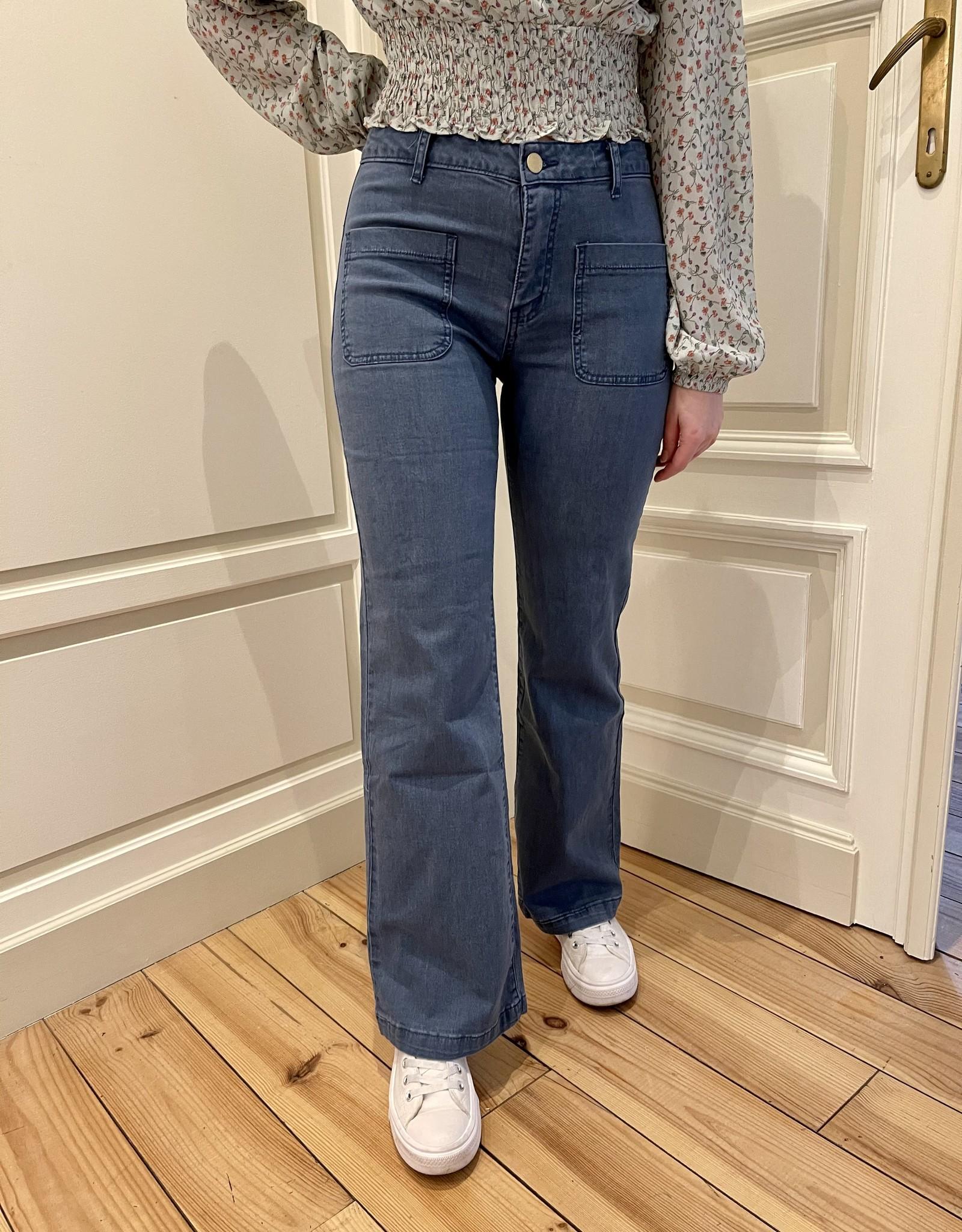 Jeans Maurine - Bleu vintage