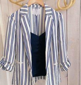 Blue Stripes Blazer