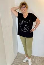 T-shirt Woman - Noir