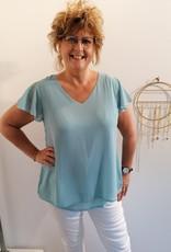 T-Shirt Christy - Bleu