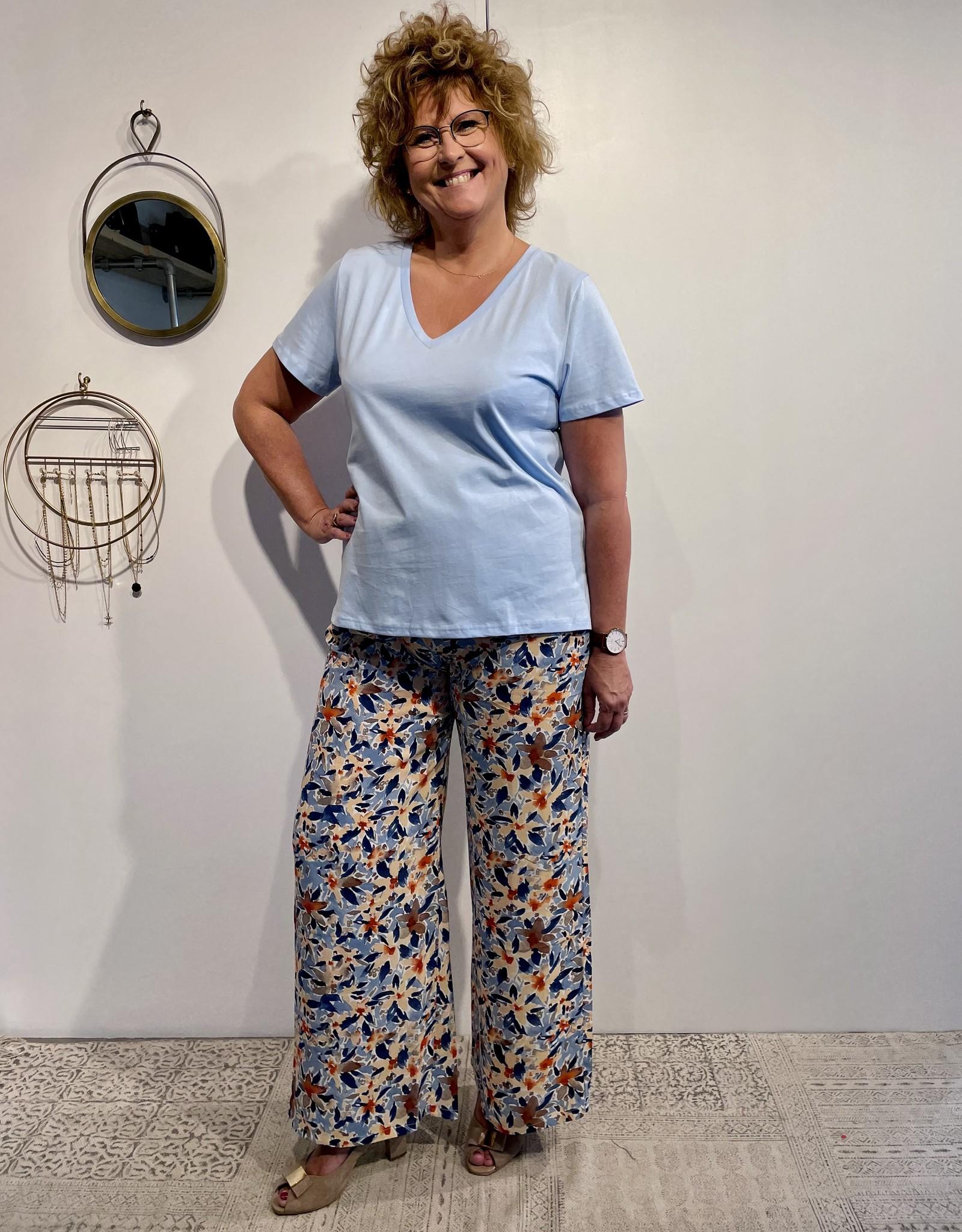 Pantalon Monya - Bleu