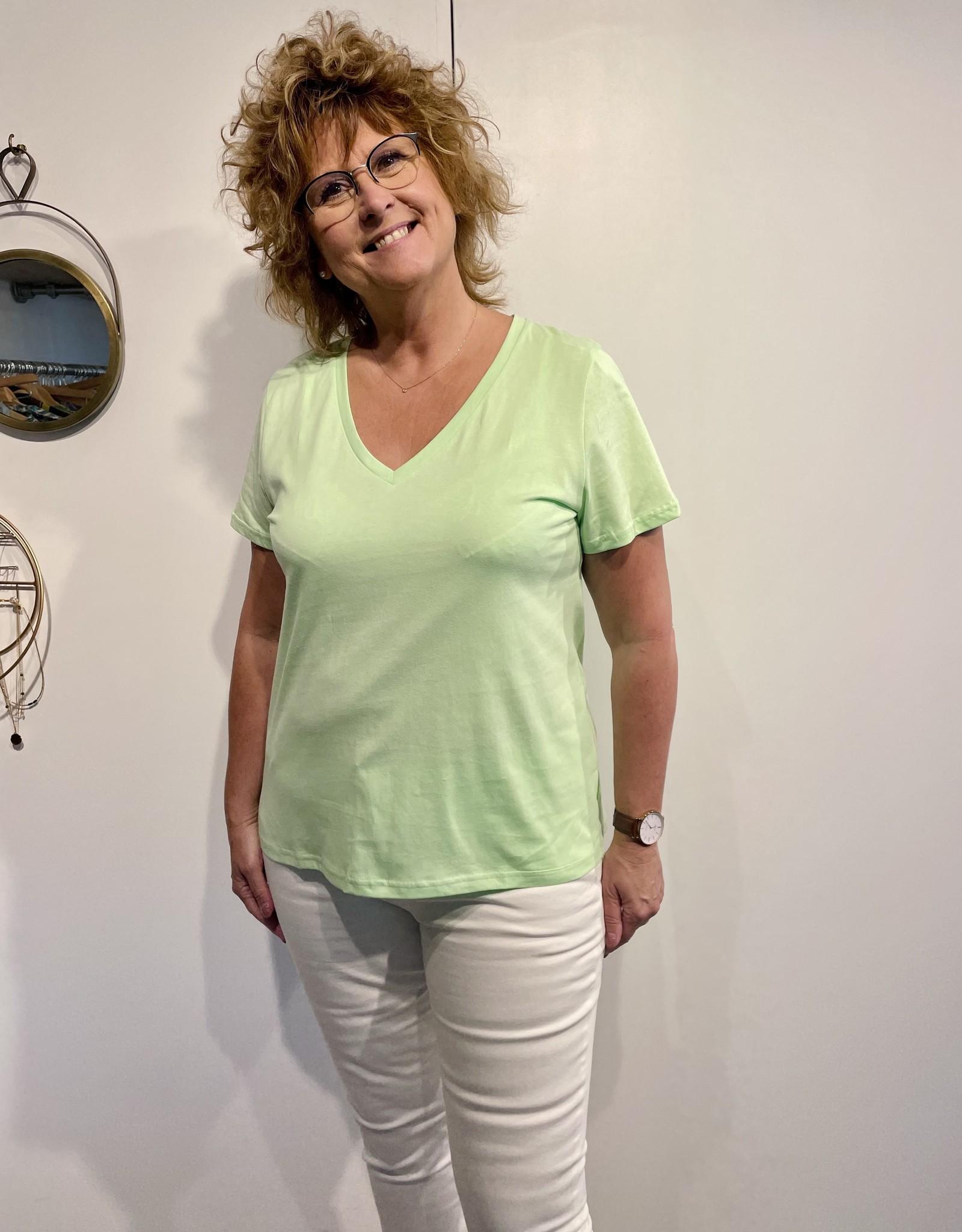 T-Shirt Cyna - Vert