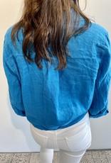 Chemise Lyane - Bleu flash