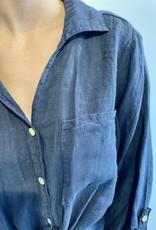 Chemise Lyane - Bleu marine