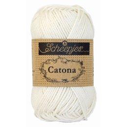 Scheepjes Catona 10 g Bridal White (105)