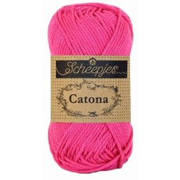 Scheepjes Catona 25 g - 114 - Shocking Pink