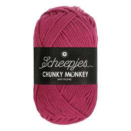 Scheepjes Chunky Monkey 1827 - Deep Fuchsia