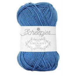 Scheepjes Linen Soft 615 - blau