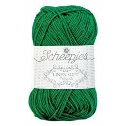 Scheepjes Linen Soft dunkel grün (605)