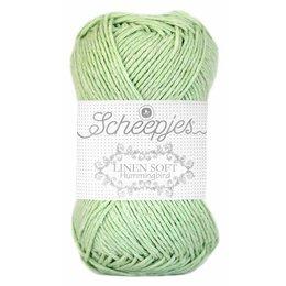 Scheepjes Linen Soft 622 - hell grün