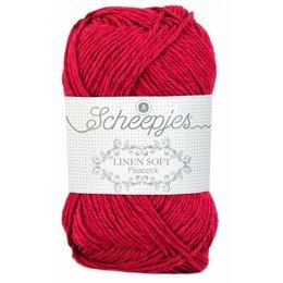 Scheepjes Linen Soft 604 - rot