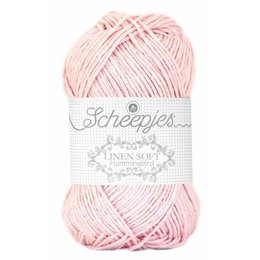 Scheepjes Linen Soft 628 - rosa