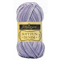 Scheepjes Softfun denim 512 - Lavendel