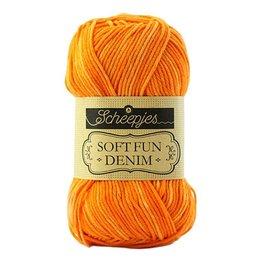 Scheepjes Softfun denim Orange (519)
