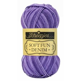 Scheepjes Softfun denim 513 - Violett