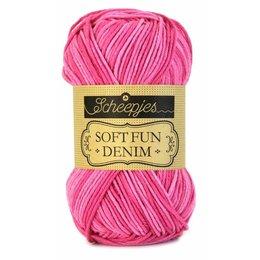 Scheepjes Softfun denim 503 - Pink