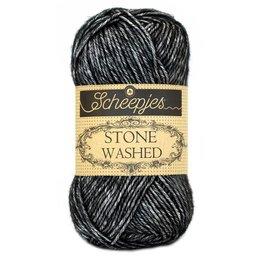 Scheepjes Stone Washed 803 - Black Onyx
