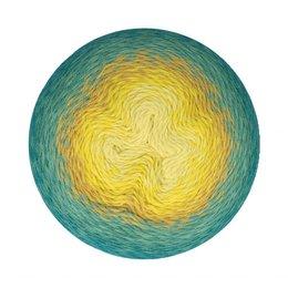 Scheepjes Whirligig Teal to Yellow (203)