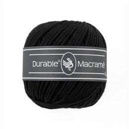 Durable Macrame 325 - Black