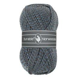 Durable Norwool Plus blau/beige/grau (M235)