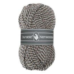 Durable Norwool Plus M04932 - braun/grau/weiss