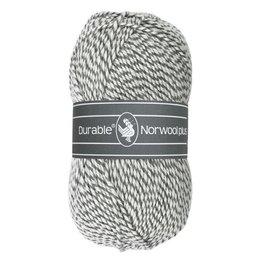 Durable Norwool Plus M004 - weiss/grau