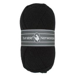 Durable Norwool Plus 000 - schwarz