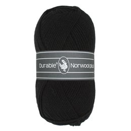 Durable Norwool Plus schwarz (000)