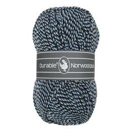 Durable Norwool Plus schwarz/blau/weiss (M00235)