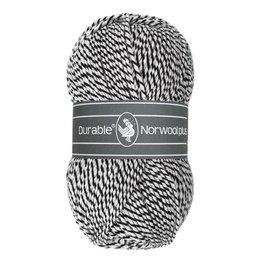 Durable Norwool Plus schwarz/weiss (M000)