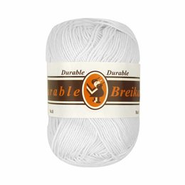 Durable Cotton 8 weiss (202)