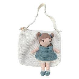 Caro's Atelier Häkelset Carolientje mit Tasche