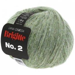 Lana Grossa Brigitte No. 2 - 18 - Graugrün