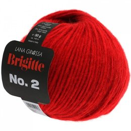 Lana Grossa Brigitte No. 2 Rot (09)