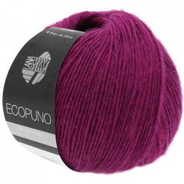 Lana Grossa Ecopuno 22 - Purpur