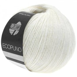 Lana Grossa Ecopuno 26 - Weiß