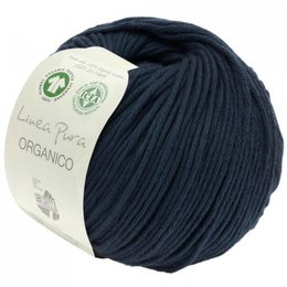 Lana Grossa Linea Pura Organico 013 - Nachtblau