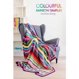 Scheepjes Rainbow Sampler Decke