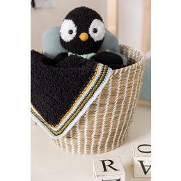 Garnpaket Kuscheldecke Pedro der Pinguin