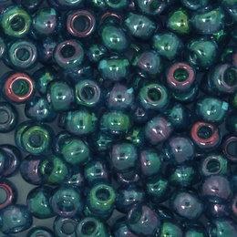 Toho Glasperlen rund 8-0 blau/grün/violet (321)