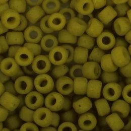 Toho Glasperlen rund 8-0 grün/gelb (2600F)