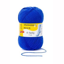 Schachenmayer Regia 4-fädig 6615 - Electric blue