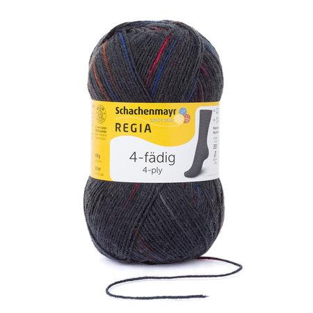Schachenmayer Regia 4-fädig color 5097 - Spot graphit