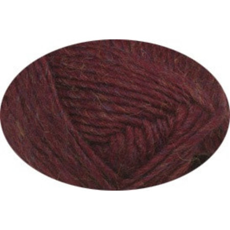 Lopi Alafoss 9962 - ruby red heather
