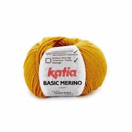 Katia Basic Merino Senfgelb (41)