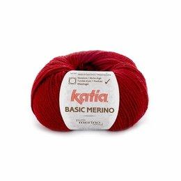 Katia Basic Merino 22 - Weinrot