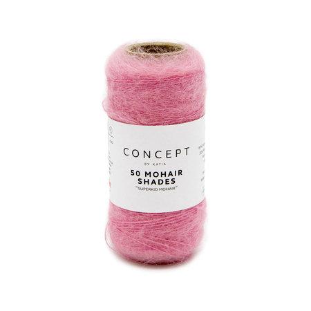 Katia 50 Mohair Shades 36 - Pink